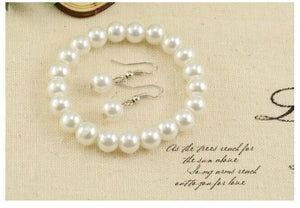 Jewelry Sets Bride Accessories Pearls Handcrafted Beaded