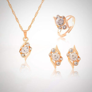 Top Selling Classy Crystal Bridal Jewelry Set