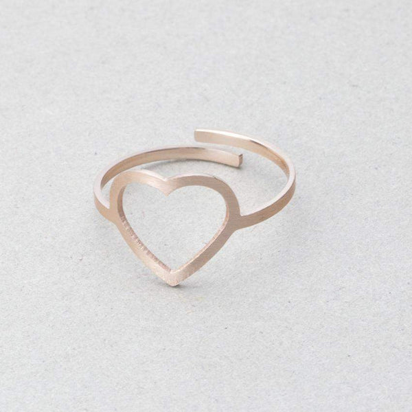 2018 Adjustable Heart Engagement Ring