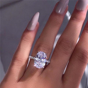 Dazzling Brilliant Prong Ring