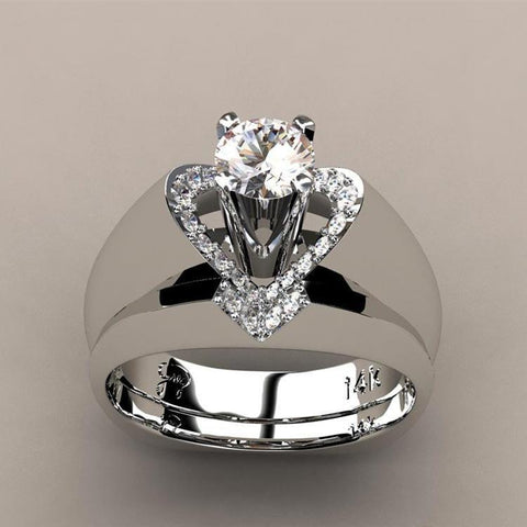 Gorgeous Lady Love Ring