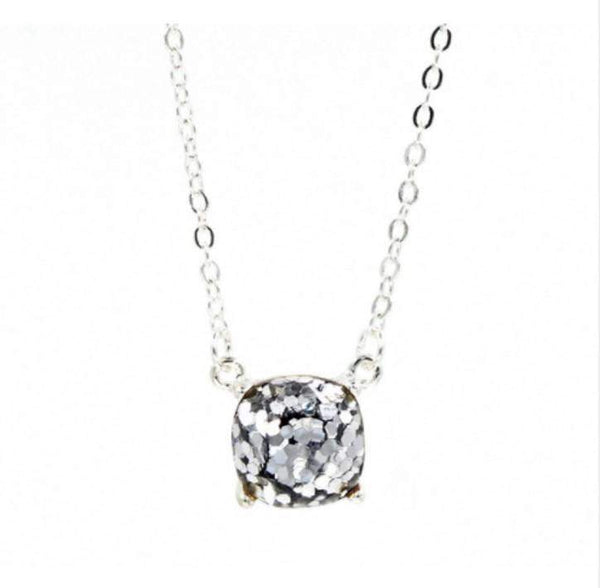 2018 Cubic Glitter Crystal Personality Necklace