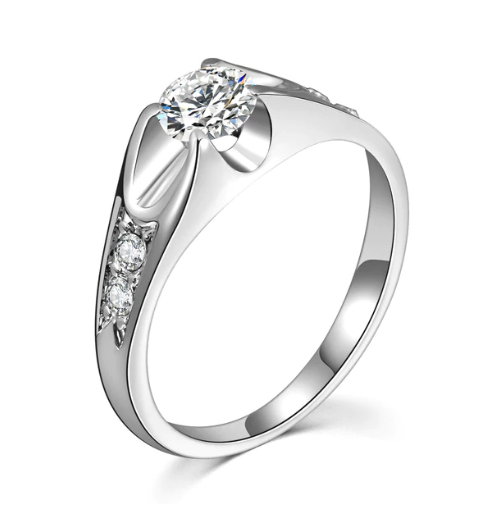 Best Selling Elegant Cubic Zircon Engagement Ring