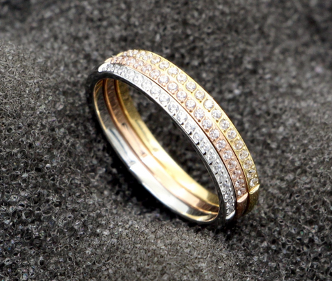 Top Rated Simple AAA+ Zircon Wedding Ring