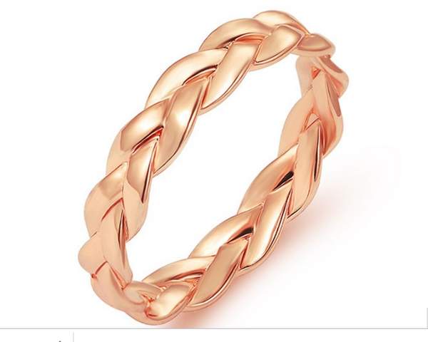Classic Twisted Rope Infinity Ring