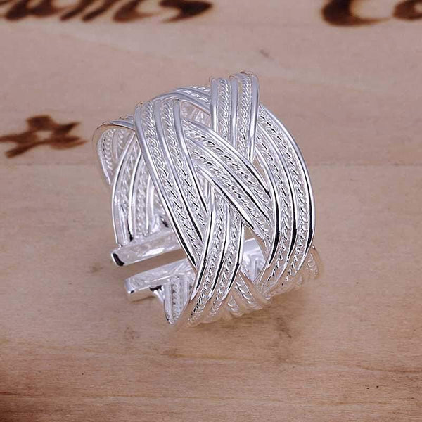 Interwoven Love Ring