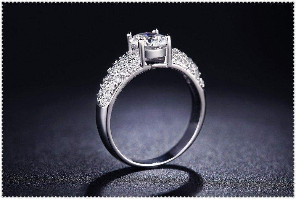 White Bow Wedding Ring Clever Clad