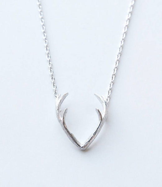 Free Jewelry - Antler Necklace - Clever Clad