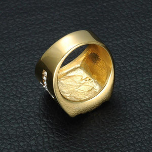 Jesus Cross Symbol Ring