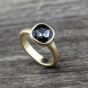New Cute Square Wedding Ring