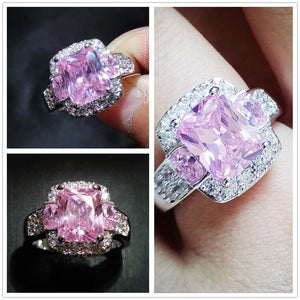 Charming Crystal Wedding Party Ring
