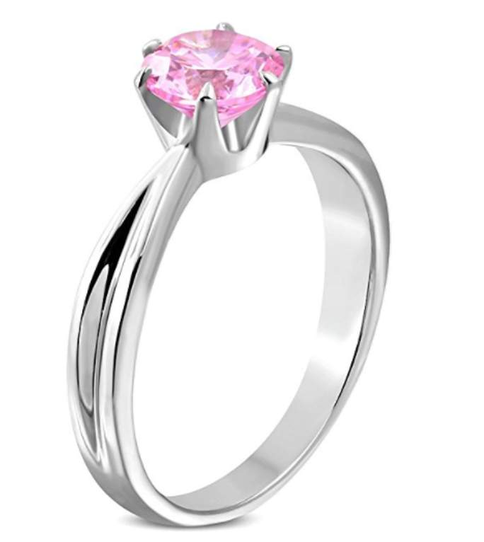 Classic Pink Love Ring