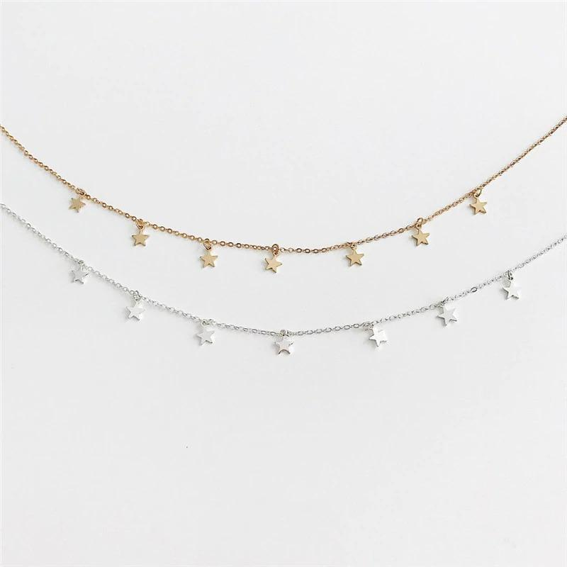 Pentagon-Star Necklace