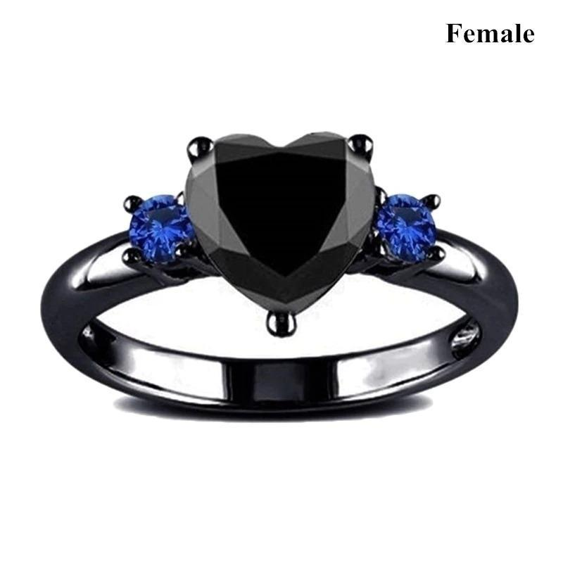 Stylish Romantic Couple Ring for Weeding Anniversary
