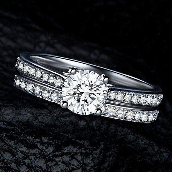 Glitzy Promise Rings