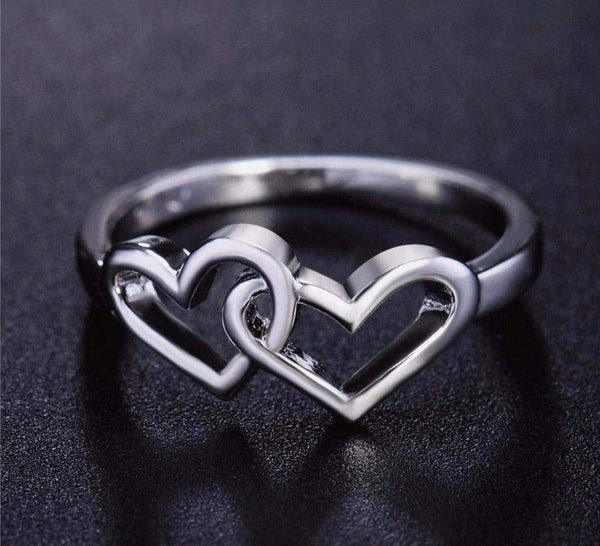 In Demand! Heart To Heart Eternity Ring