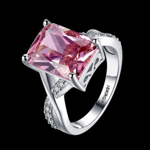 Most Requested Pink Stone Wedding Ring
