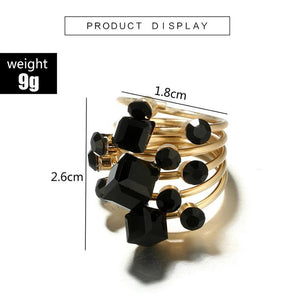 Knuckle Finger Midi Ring