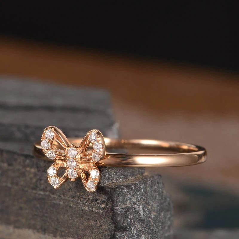Best Pave Butterfly Ring