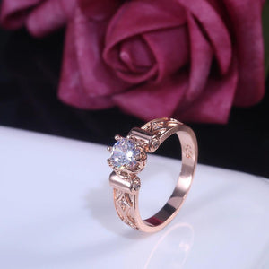 Attentive Proposal Gift Ring