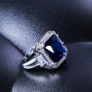 Beloved Deep Blue Ring