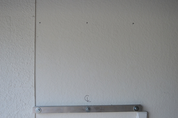 wall mount installation