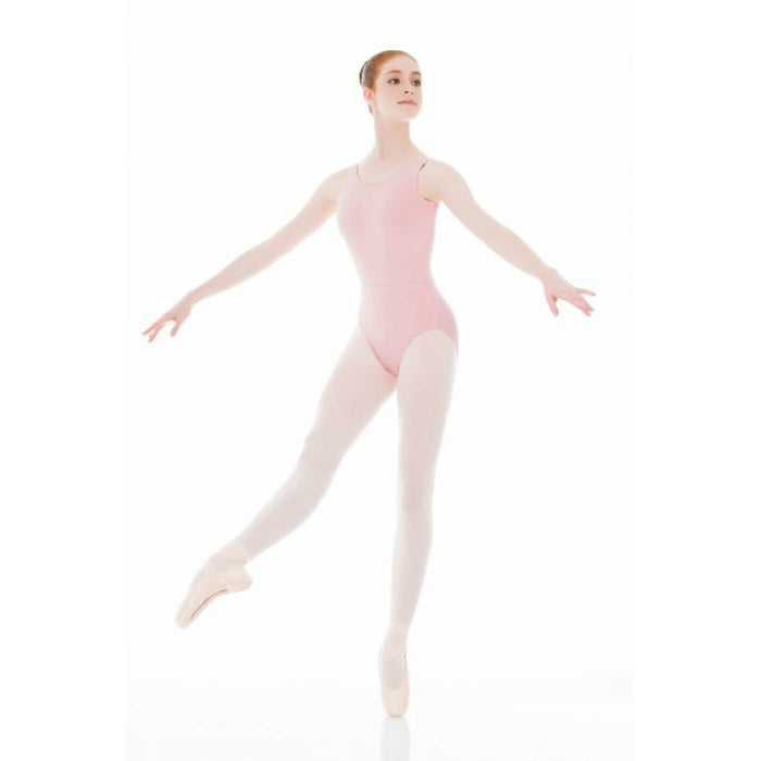 Mondor True Pink Tank Leotard