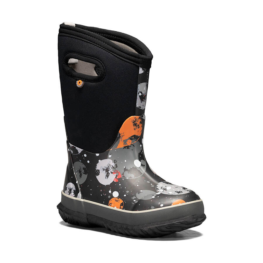 BOGS Black Classic Sketched Dots Boot