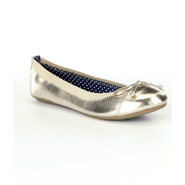 Sperry Champagne Elise Flat