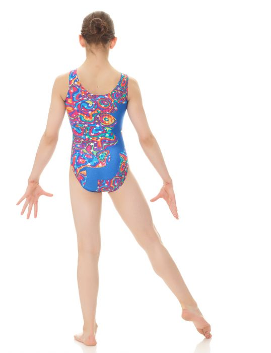 Mondor Adult Superkid Printed Tank Leotard