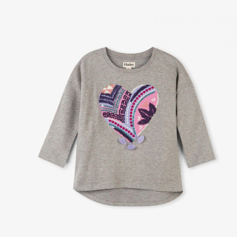 Hatley Crafty Heart Pullover