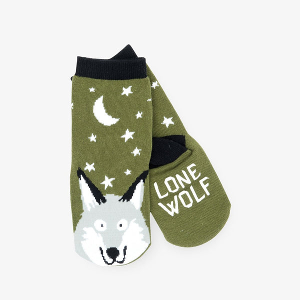 Little Blue House Wild Wolves Crew Socks