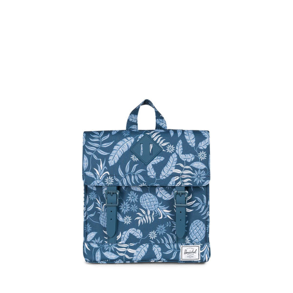 Herschel Aloha Majolica Blue Survey Kids Backpack