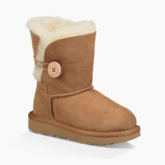 UGG Chestnut Bailey Button II Toddler Boot