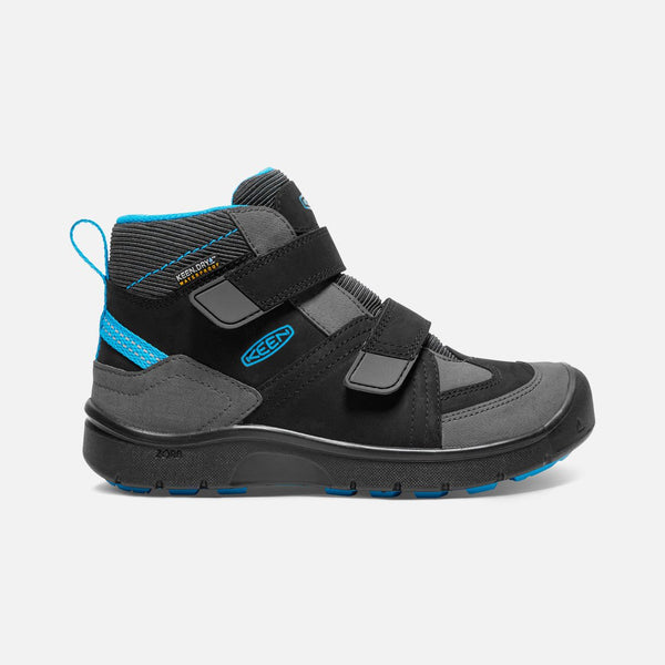 Keen Black/Blue Jewel Hikeport Mid Hiking Shoe