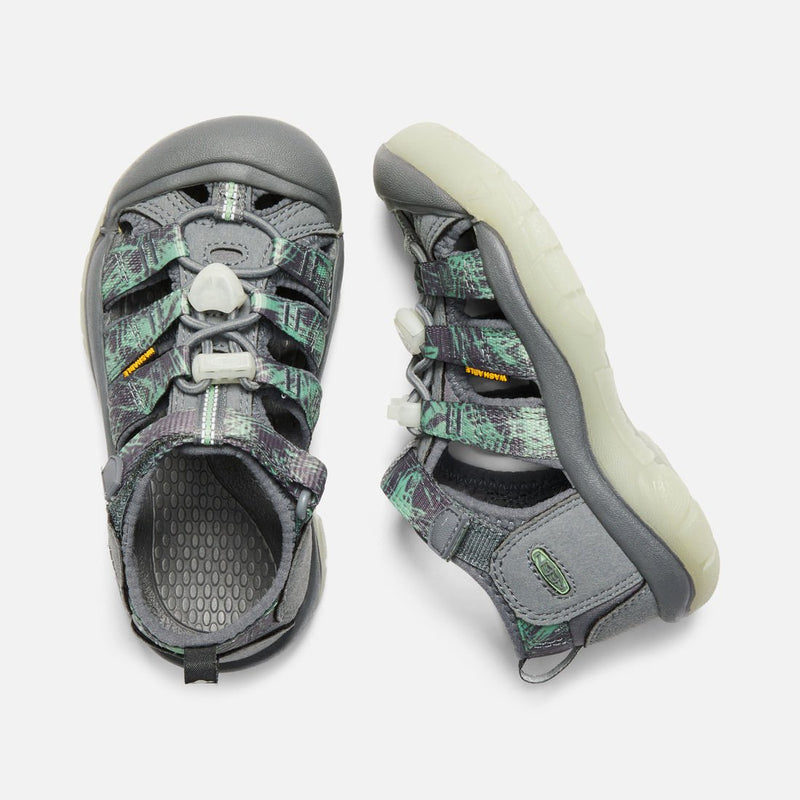 Keen Steel Grey/Glow Newport H2 Youth Sandal