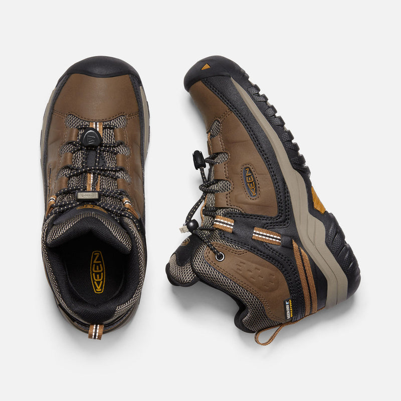 Keen Dark Earth/Golden Brown Targhee Mid Hiking Shoe