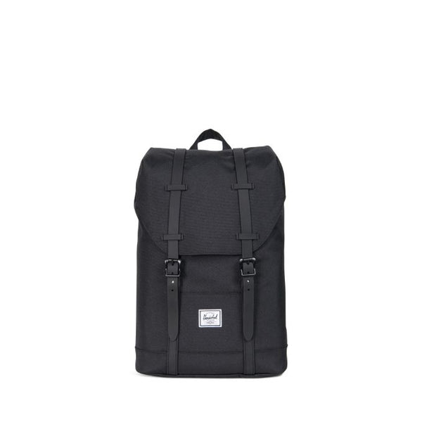 Herschel Black Retreat Youth Backpack