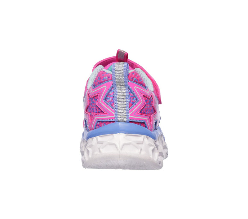 Skechers Neon/Pink Galaxy Lights A/C Sneaker