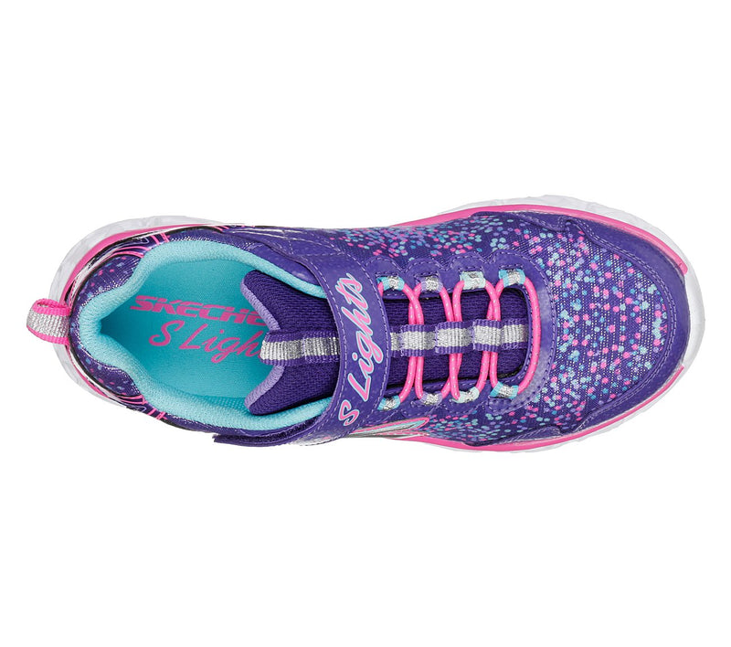 Skechers Purple Multi Galaxy Lights Sneaker