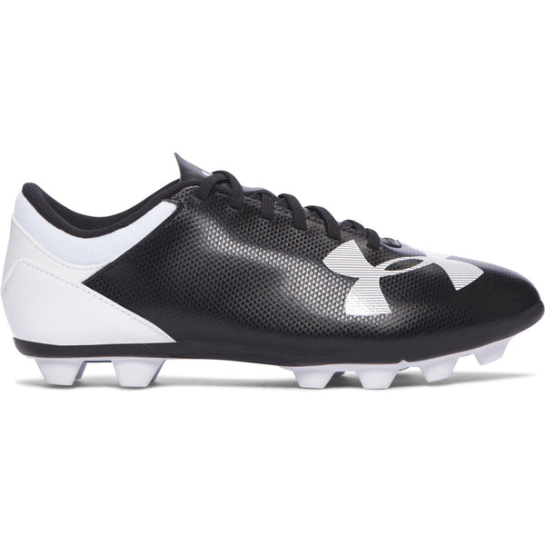 Under Armour Black/White Spotlight Soccer Cleat