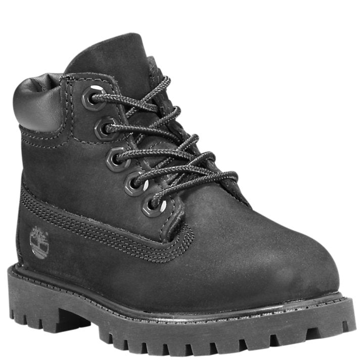 Timberland Black Premium Waterproof Toddler Boot