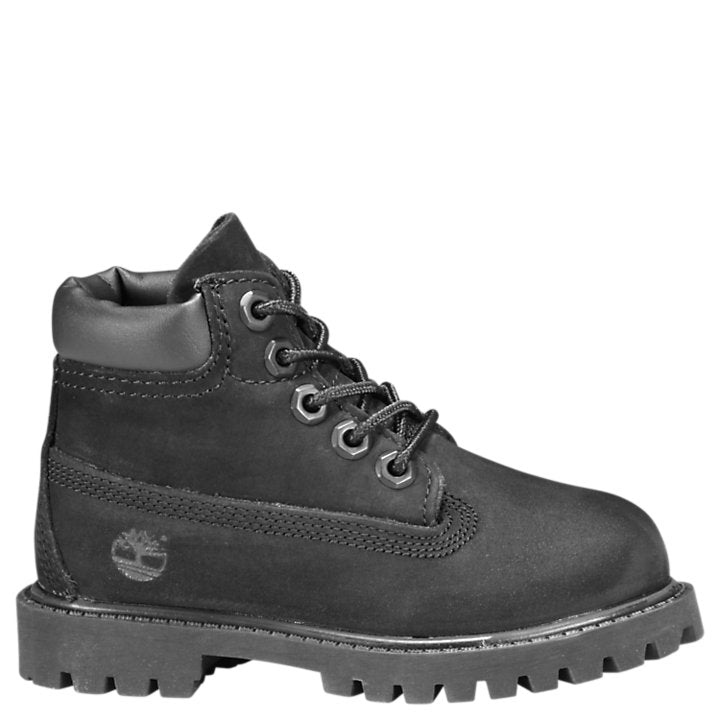 Timberland Black Premium Waterproof Children's Boot