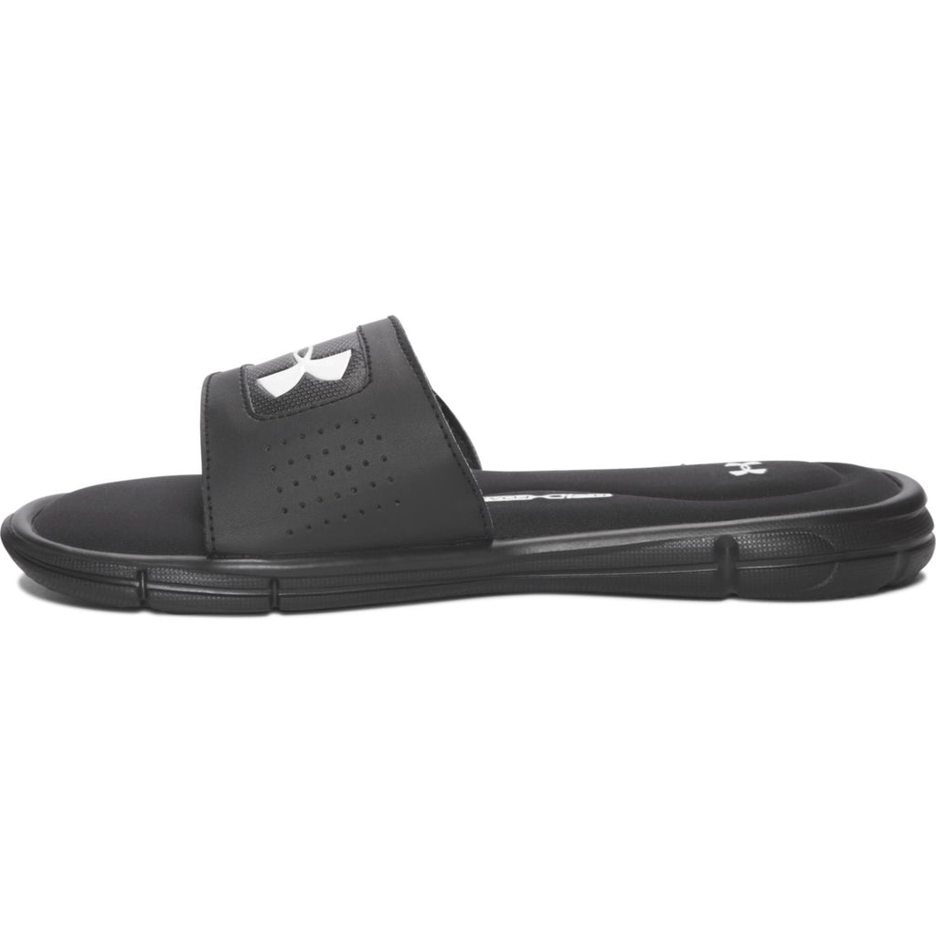 Under Armour Black/White Ignite V Children's/Youth Slide