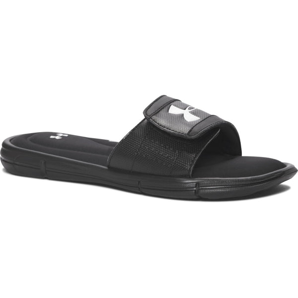 Under Armour Black/White Ignite V Slide