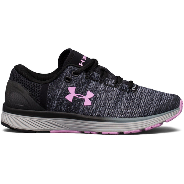 Under Armour Black Charged Bandit Sneaker