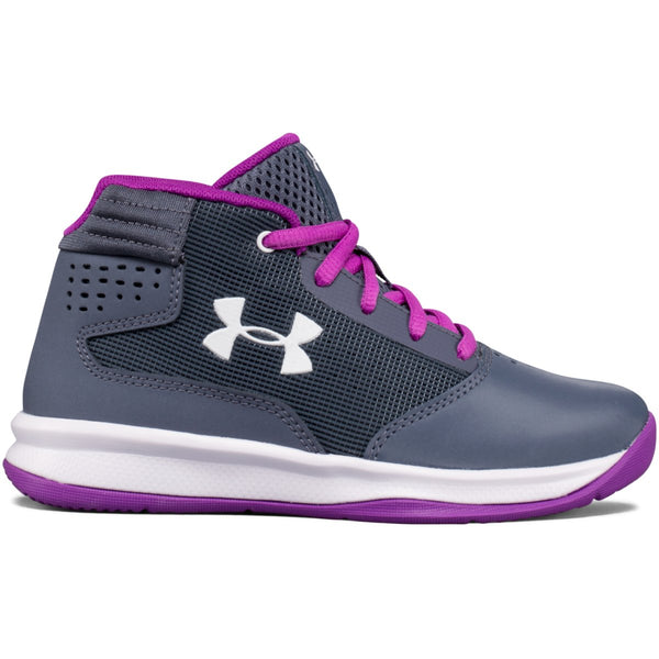 Under Armour Apollo Gray Jet Basketball Shoe