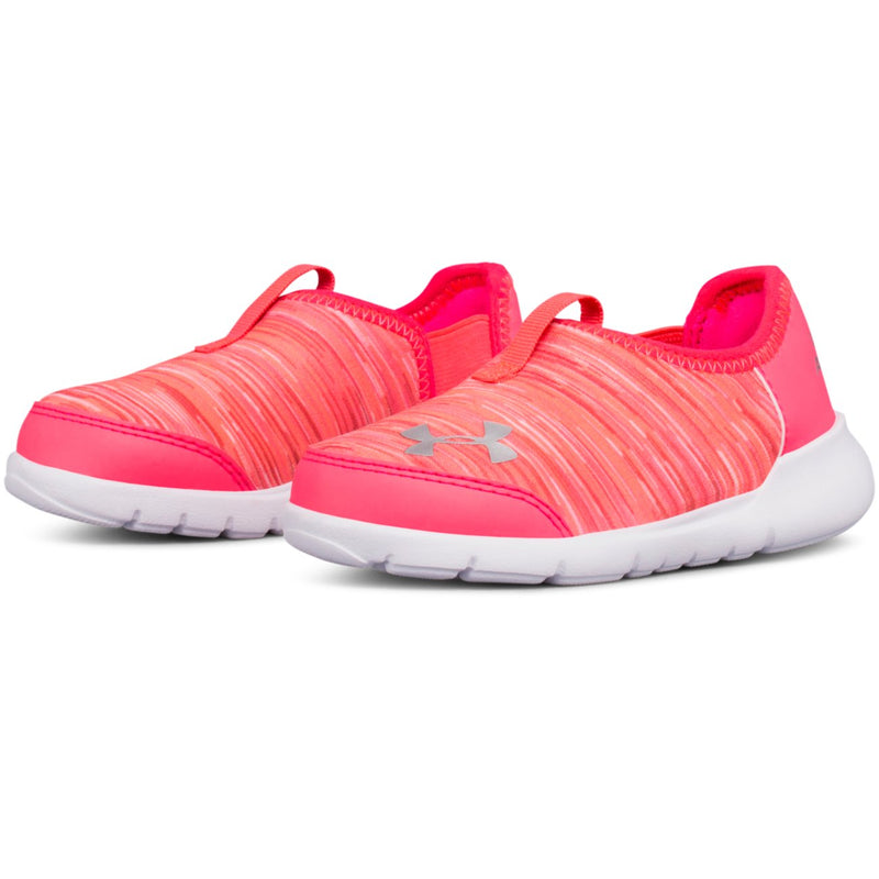 Under Armour Penta Pink/Brilliance/Metallic Silver Infant Superflex Sneaker