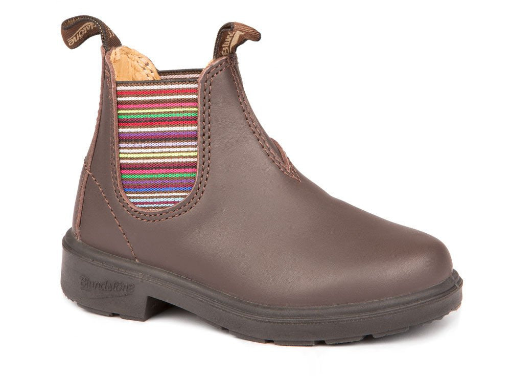Blundstone Brown Striped Kids