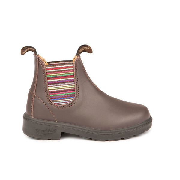 Blundstone Brown Striped Kids' Blunnies